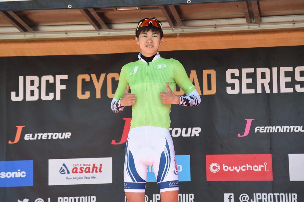 昨年この大会でリーダージャージを獲得した村山選手 (今期はスペインのチームに在籍) photo:Satoru Kato